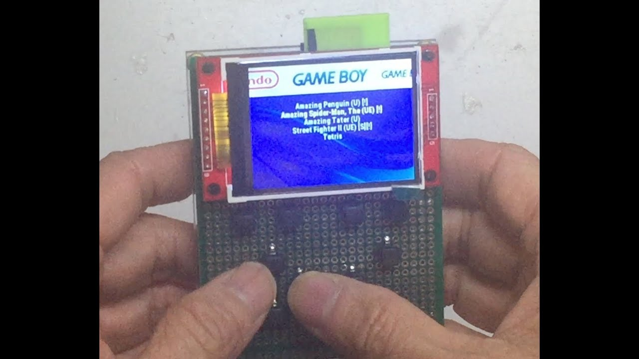 Homemade Odroid-go Compatible Game Console: 5 Steps (with