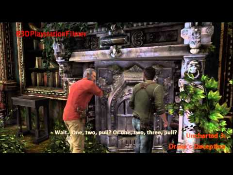 Uncharted 3: Drake's Deception Walkthrough Chapter 6 - The Chateau {9 Treasures}