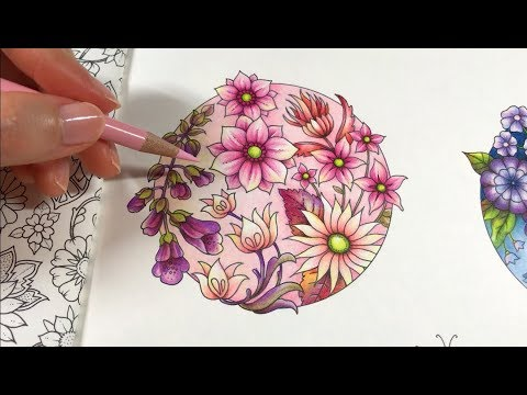 basic-flowers-coloring-|-blossom-3/4---world-of-flowers-by-johanna-basford