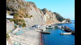 4475海岸絶景!旧道おせんころがし&大沢漁港 H30os