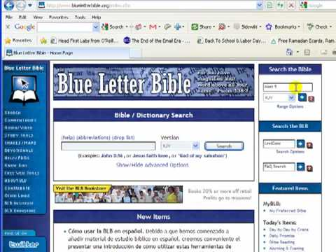 Bible Translation Tools — If you change the campus, you