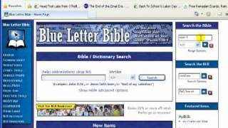 How to use Strongs Concordance in Book and Online form for Your Bible Study