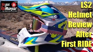 LS2 HELMET REVIEW after First RIDE