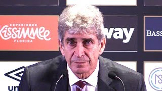 West Ham 1-1 Liverpool - Manuel Pellegrini Full Post Match Press Conference - Premier League
