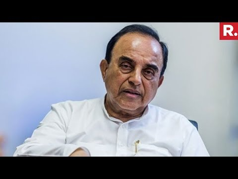 Subramanian Swamy Reacts To Owaisi Comment On Army Chief