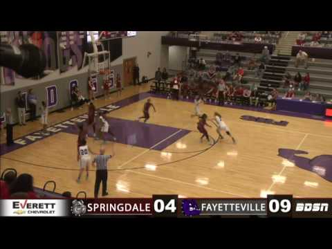 Springdale High School Basketball | @ Fayetteville