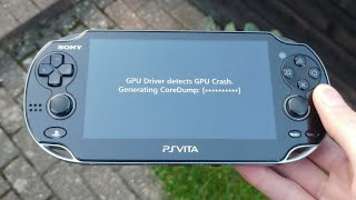 My PS Vita's GPU Crashed!? How I Fixed It!