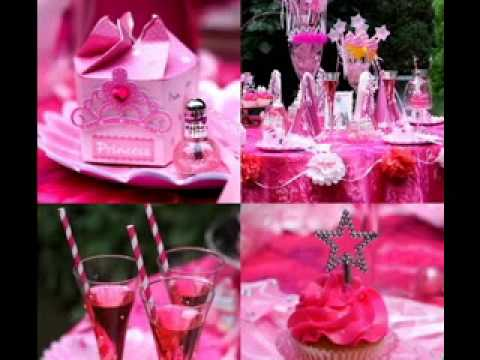 Baby girl birthday party themes decorating ideas YouTube