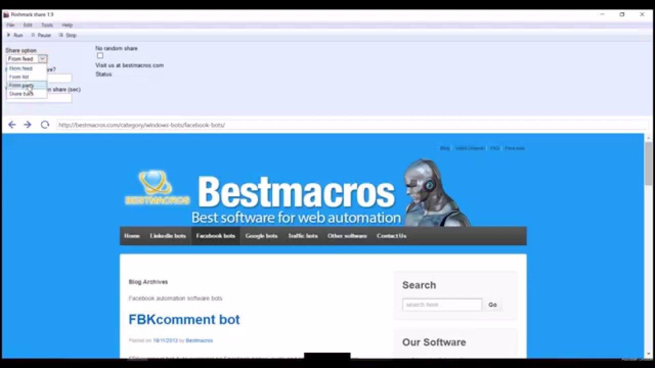 Poshmark share bot   Bestmacros