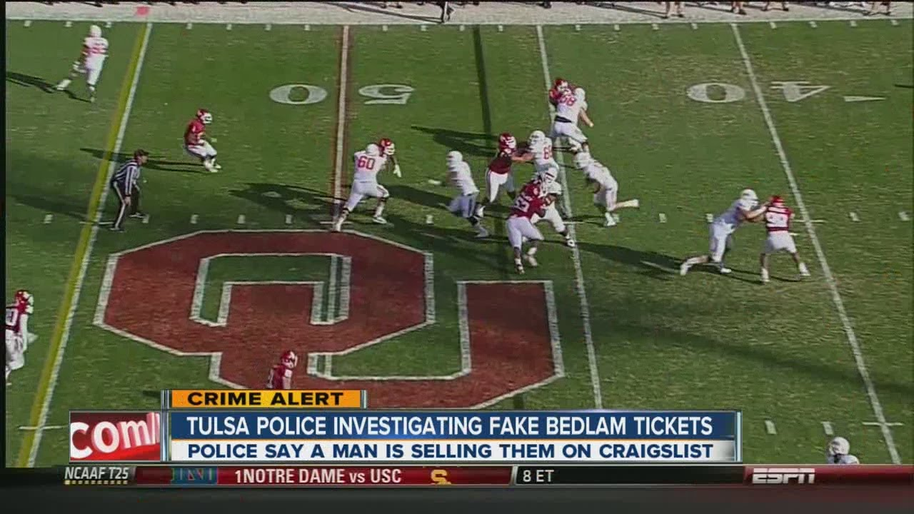 Tulsa police issue warning for Craigslist scam involving ...