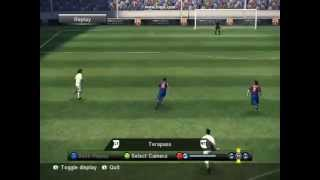 Thierry Henry goal #2 in PES 10