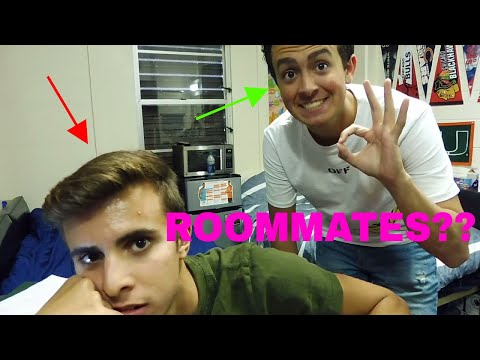 HOW TO CHOOSE A COLLEGE ROOMMATE!