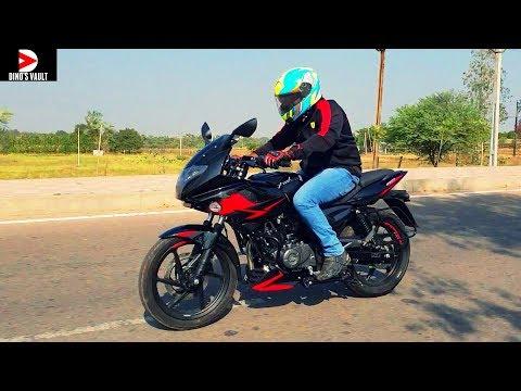 2019 Bajaj Pulsar 220F ABS First Ride Review #Bikes@Dinos