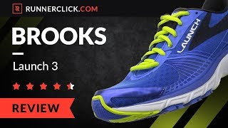 Brooks Launch 3 Review - Pros and Cons