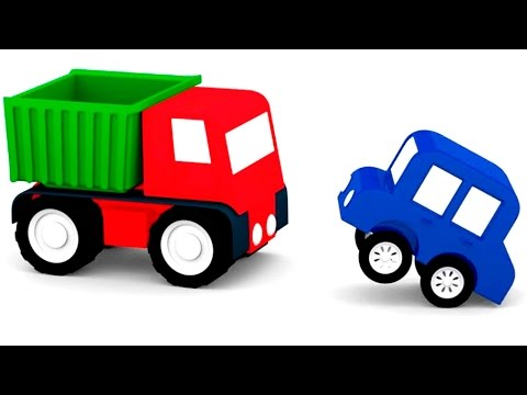 Мультик для детей про машинки. Машинки и их тени. Мультик пазл.
