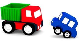 #МАШИНКИ. Развивающий мультик для детей: 4 машинки все серии подряд. Пазлы