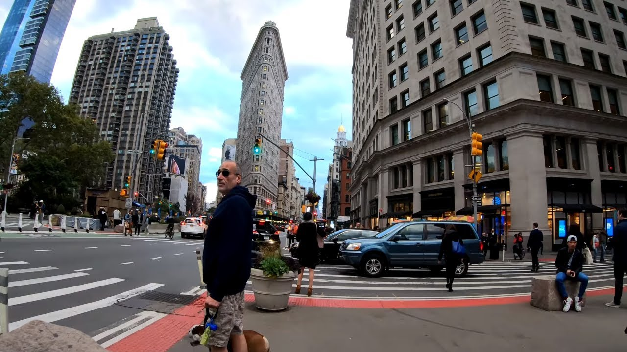 ⁴ᴷ⁶⁰ Walking Nyc 5th Avenue From Central Park To The