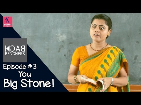 Back Benchers Season 1| Episode #3 | You Big Stone