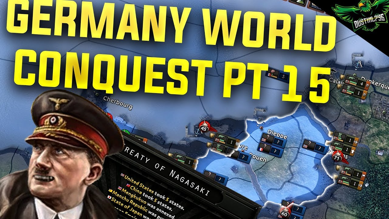 Hearts of Iron 4 Germany - World Conquest - Part 15 (HOI4 Man the Guns)
