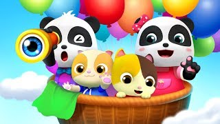 Baby Panda Theme Song | Pretend Play | Learn Colors, Food Song| Kids Songs| Baby Cartoon | BabyBus