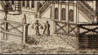 Невероятные технологии.  Техника литографии 1753 года.
