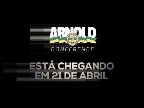 Está Chegando o Arnold Conference 2017 - 21 de Abril