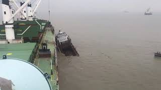 ship accident with fishing vessel | SEA ACCIDENT