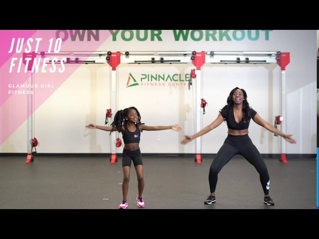 Glamour Girl Fitness - 10 Minute Workout