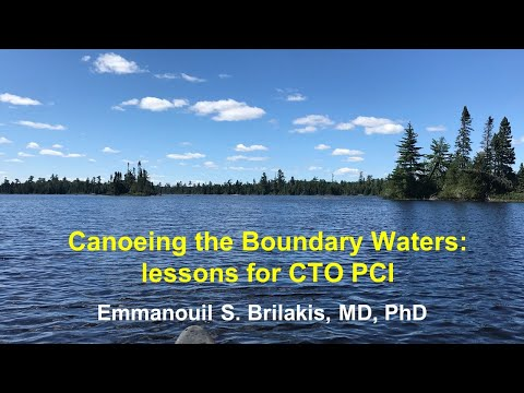 Canoeing the Boundary Waters: 15 lessons for CTO PCI