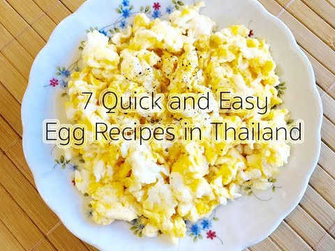 7 Quick and Easy Egg Recipes in Thailand