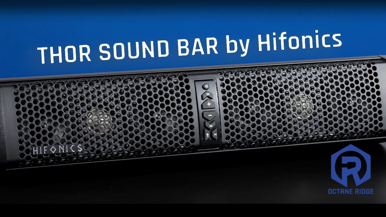 Instructional Video Thor Sound Bars By Hifonics Utv Octane Wiring Diagram Ridge