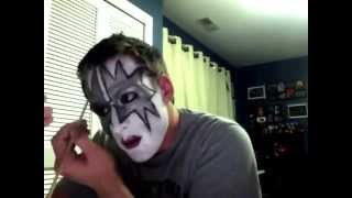 """KISS: Ace Frehley """"Space Ace"""" Makeup Tutorial"""