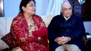 Jeevan saathi with Mr & Mrs. K.P. Oli - Himalaya TV