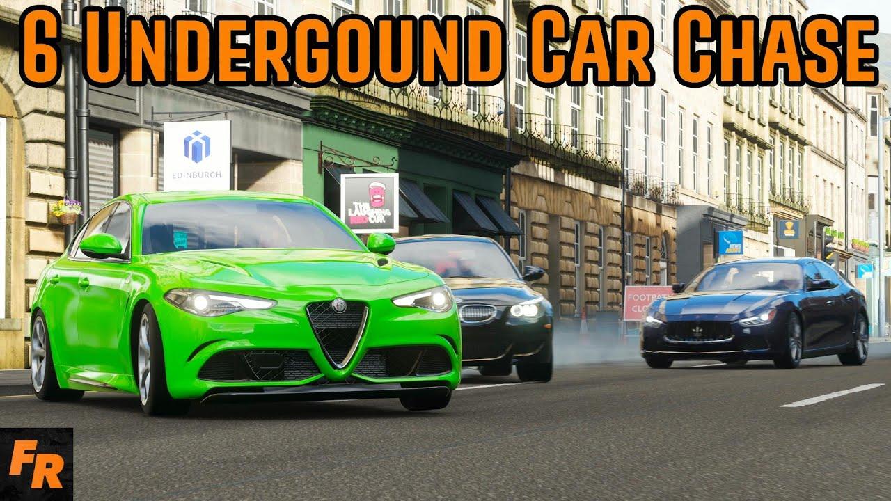 6 Underground Car Chase - Forza Horizon 4 thumbnail