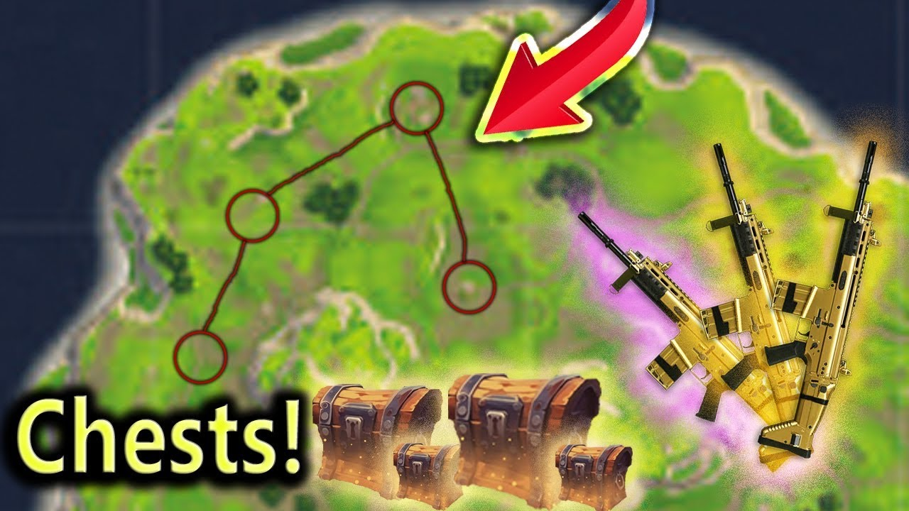 Top Places To Find The Best Loot: NEW Chest/Loot Spots! Best Locations! Fortnite Battle