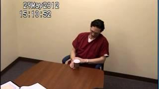 Israel Keyes Interview, May 29, 2012