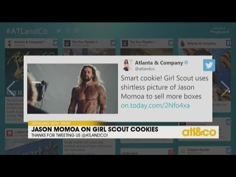 Jason Momoa On Girl Scout Cookies Youtube