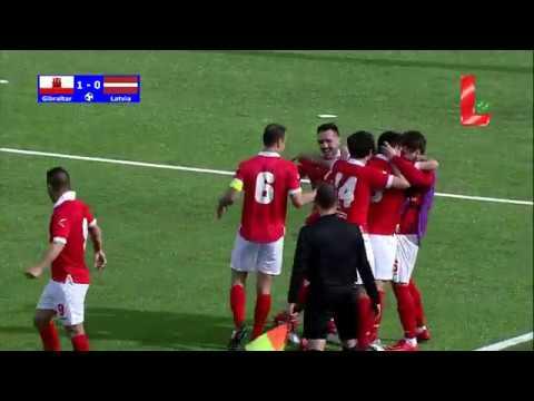 Gibraltar 1 - 0 Latvia (25.03.2018 // by LTV)