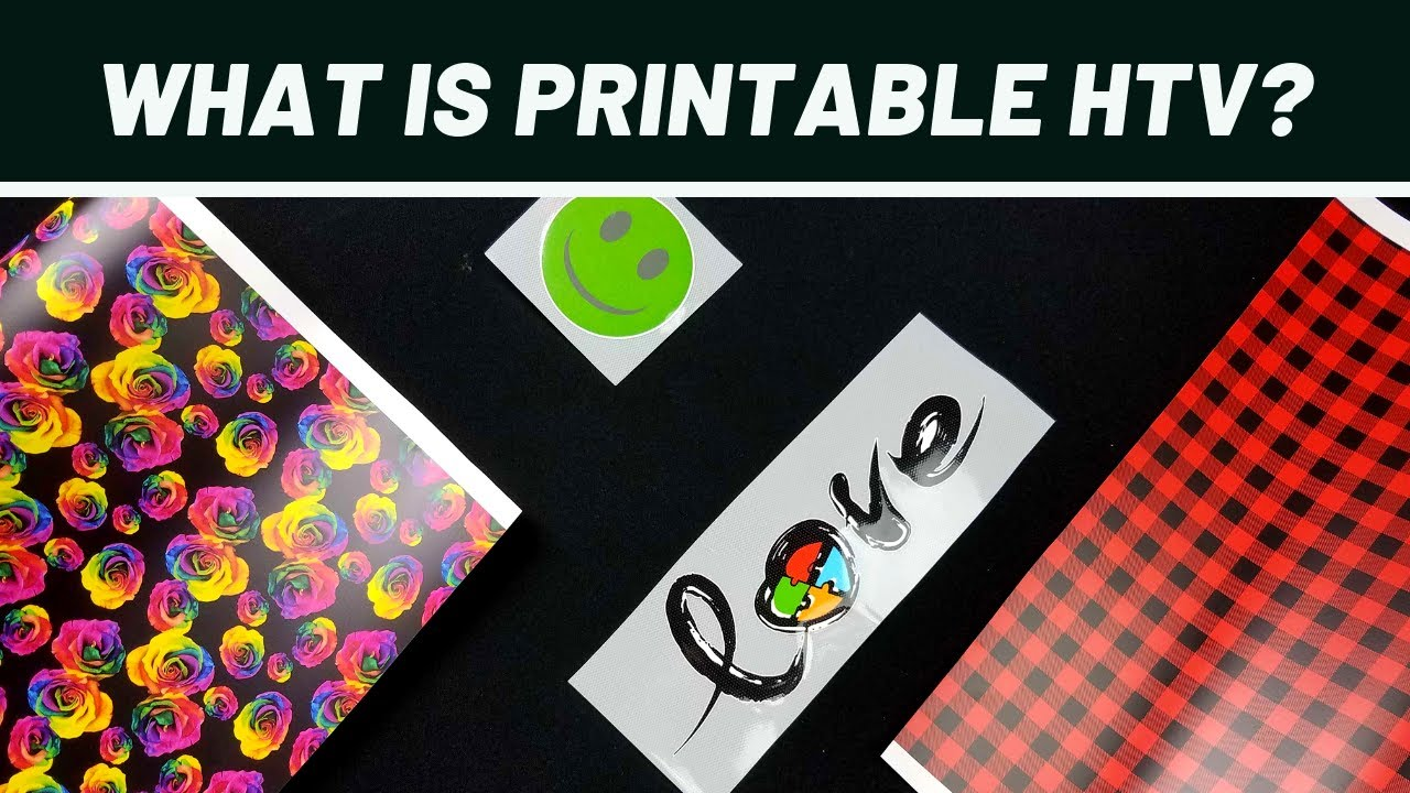 graphic regarding Best Printable Heat Transfer Vinyl named What is Printable Warm Go Vinyl (HTV)?