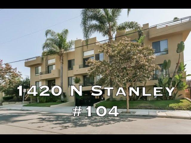1420 N Stanley Ave #104, Los Angeles CA 90046