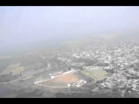 Vijayawada to Amaravathi aerial view ap new capital 1