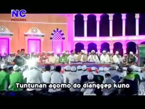 Syi'ir Walisongo   Ahbabul Musthofa Bangkalan pra Habib Syech bin abdul Qodir assegaf
