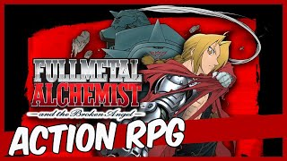 Fullmetal Alchemist and the Broken Angel - O Action RPG da Square (PS2)