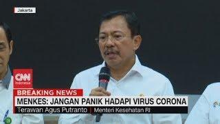 Menkes: Jangan Panik Hadapi Virus Corona