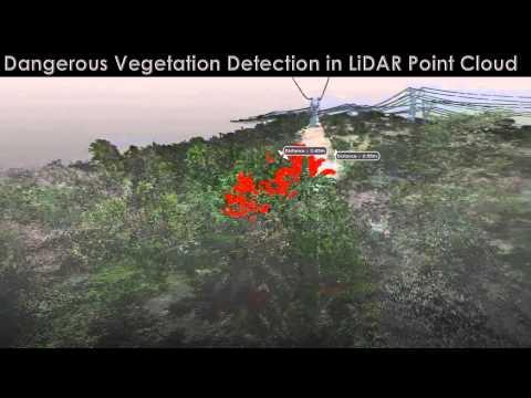 GeoM powerline LiDAR survey