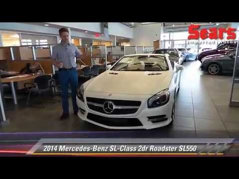 New 2014 mercedes benz sl class roadster sl550 for Mercedes benz bloomington mn