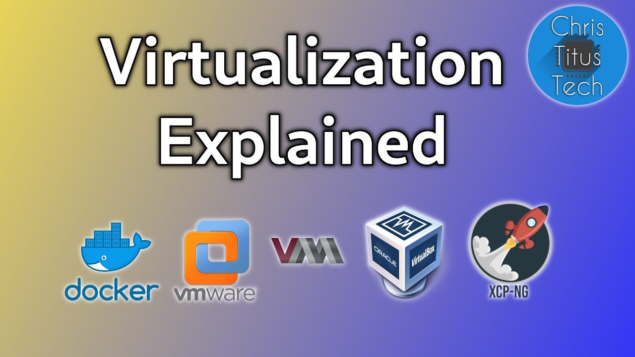 Virtualization Explained | Docker | VMware | QEMU | Virtualbox