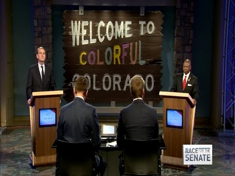 Complete 9NEWS Colorado senate debate