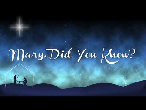 Mary, Did You Know? Instrumental