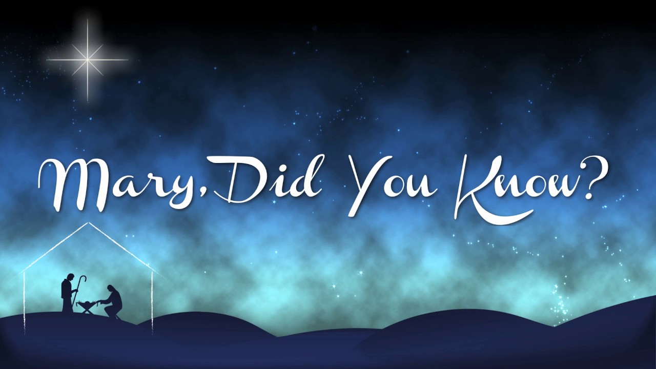 Mary, Did You Know? Instrumental - YouTube